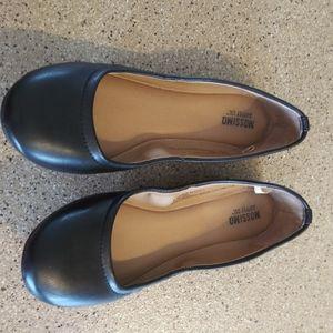 Mossimo basic black flats 6 slip on shoes target